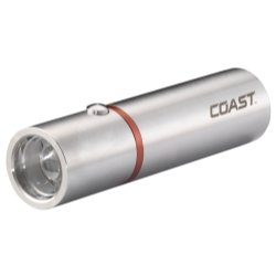Coast (COS19266) A15 Stainless Steel Flashlight