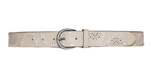 Lucky Brand Women's Tonal Half Moon Belt (Large) (Half Moon Buckle Belt)