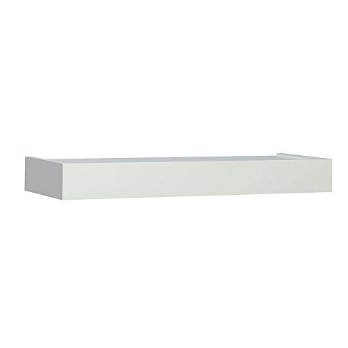 Knape & Vogt Shelf (Shelf-Made 0140-24WT Floating Shelf, 24-Inch, White)