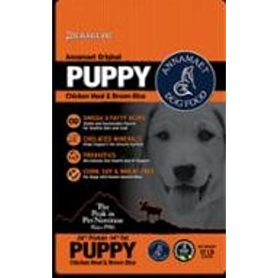 Annamaet Original Puppy Chicken Meal & Brown Rice Formula Dry Puppy Food 5 lb. Bag. Fast, by Just Jak's Pet Market