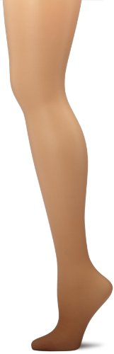 Hanes Women's Non Control Top Sandalfoot Silk Reflections Panty Hose, Little Color, A/B