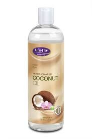 Coconut Oil, Fractionated Life Flo Health Products 16 oz Liquid