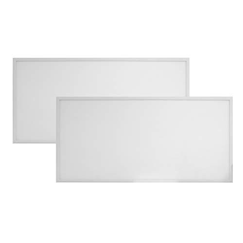 2-Pack, Premium 2ft x 4ft LED Flat Panel - 40 Watt - Dimmable - 5100 Lumens - LumeGen (4000K)