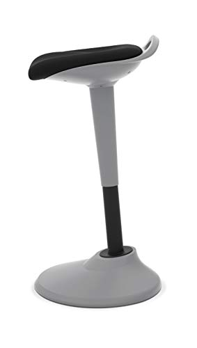 HON Perch Stool, Sit to Stand Backless Stool for Office Desk, Black (HVLPERCH) by HON (Image #4)