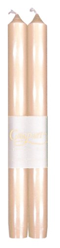 entertaining-with-caspari-10-inch-taper-dripless-smokeless-unscented-candles-ivory-pearlescent-set-o