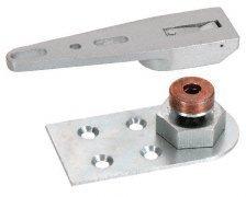 CRL Adjustable End-Load Floor Mount Bottom Pivot Set - CRL8010ADJ