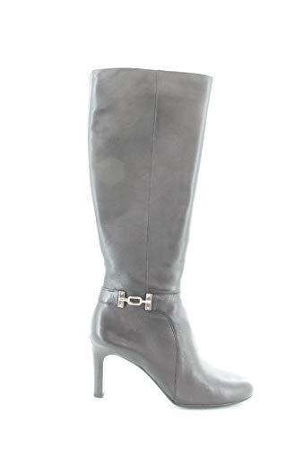 Bandolino Women's Lamari Fashion Boot Black Leather 8.5 M US