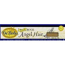 Deboles Rice Angel Hair - 8 ounce - 12 per case.