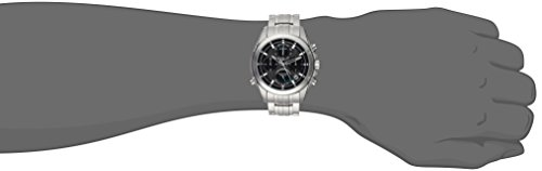Bulova Men's Quartz Stainless Steel Casual Watch, Color:Silver-Toned (Model: 96B260) by Bulova (Image #1)