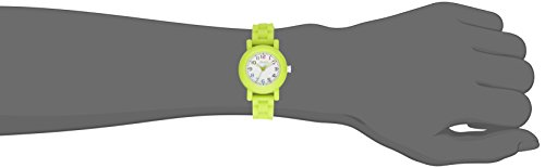 American Design Machine Jr. Kids' ADSG 5004 GRN Selma Analog Display Japanese Quartz Green Watch