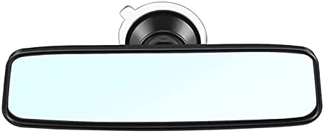 Jiahezi Car Rear Mirror Interior Rear View Mirror,with PVC Sucker Wide-Angle Rearview Mirror Auto Convex Curve Car-Styling,to Reduce Blind Spot Effectively for Cars SUV Trucks (Size : 200MM)