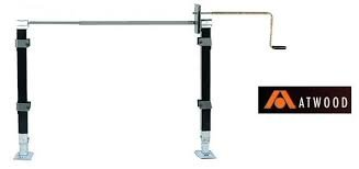 Atwood 75384 6000# FWM ASM HD Long Handle Landing Gear 5th Wheel Service Parts RV Camper Trailer by Atwood