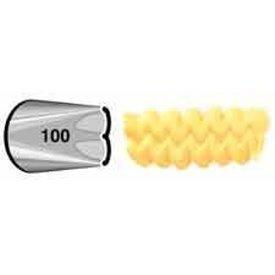 # 100 Ruffle Metal Tip