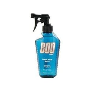 Bod Man Fresh Blue Musk By Parfums De Coeur Body Spray 8 Oz For Men