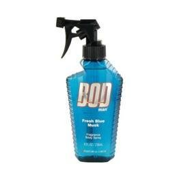 Bod Man Fresh Blue Musk by Parfums De Coeur Body Spray 8 oz