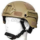 (Lancer Tactical MICH 2000 SF Helmet (Tan))