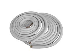 """25' Insulated Copper Pipes for Air Conditioning - 3/8"""" & 1/4"""