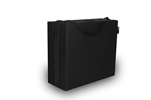 - American Furniture Alliance 32-5723-601 Jr Twin Black Trifold Mattress, Mesh/Poly
