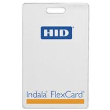 As with all Indala cards, the FlexCard is compatible with all Indala readers, and can be easily encoded with the Indala ProxSmith Programmer and toolkit. The passive, no-battery design allows for an infinite number of reads, and is warranted ...