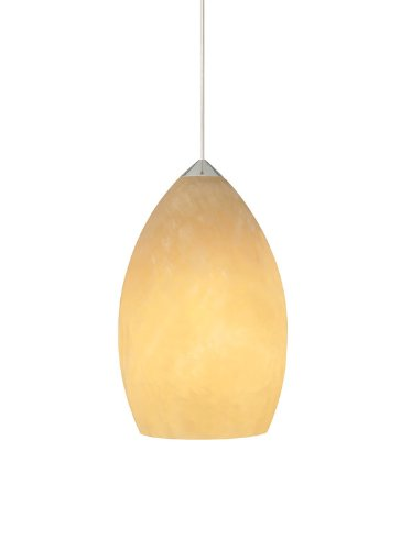 Fire Onyx 1 Light Mini Pendant Finish: White, Bulb Type: Incandescent, Volts: (Fire Onyx 1 Light)