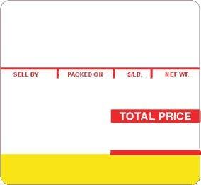 ISHIDA SCALE LABEL 64mm x 59mm 1 CASE 12 ROLLS (Ishida Scale)