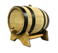 5 Gallon American White Oak Barrel by Strange Brew