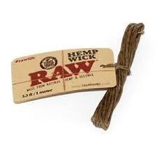Raw Hemp Wick 3.3 Ft/ 1 Meter (5 Pack)