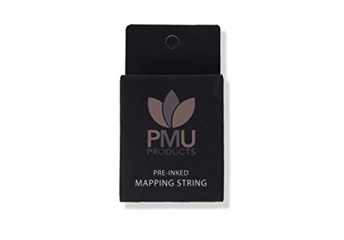 PMU THE ORIGINAL Pre-Inked Microblading String for Brow Mapping – Measuring Tool for Marking Symmetrical Eyebrows (Pack…
