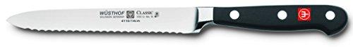 Wusthof Classic 4110 Serrated Utility Knife (Sausage knife ) 14 cm 5