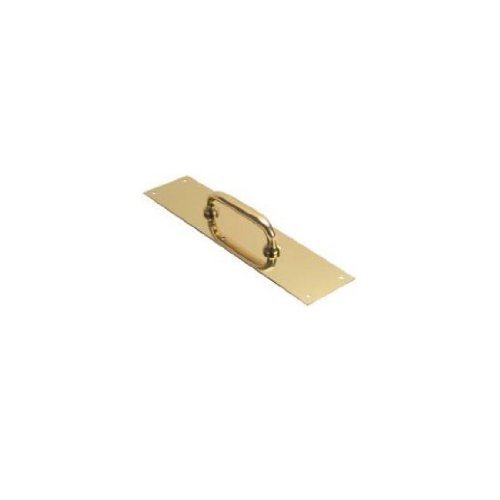 Don-Jo 7010-3 Pull Plate Polished Brass 3-1/2'' X 15'', 1'' x 1'' x 1''