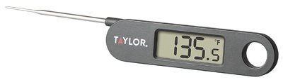 Cooking Thermometer - Compact & Folding, Fahrenheit & Celsiu