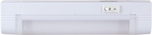 GE Slimline Fluorescent Under Cabinet Light Fixture, 8-Inch 10167