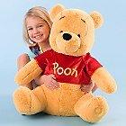 "Disney Store Large/Jumbo 28"" Winnie The Pooh Stuffed Animal Character Plush Doll"