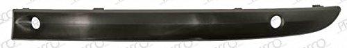 FRONT LEFT BLACK BUMPER MOLDING PRIMED SMOOTH AND SENSORS 63008264: