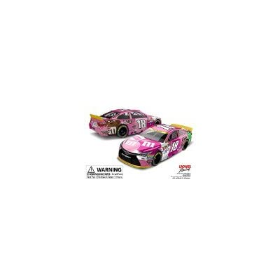 2015 (1st Championship) MMs M&Ms Paint Scheme Kyle Busch #18 Paint the Track Pink Toyota Camry 1/64 Scale Diecast Limited Edition Action Racing Collectables: Toys & Games
