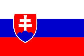Novelties Direct SLOVAKIA Flag 5ft x 3ft (100% Polyester)with eyelets for hanging MIdland