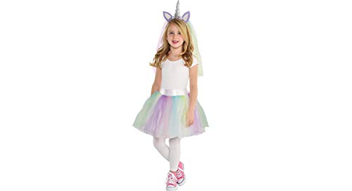 Amscan Unicorn Halloween Costume Accessory Kit Girls, One Size, 2 Pieces