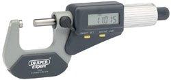 Draper 46599 Expert Dual Reading Digital External Micrometer - 0-25Mm/0-1''