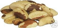 Raw Whole Brazil Nuts, 10LBS by Bayside Candy