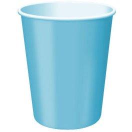 Ocean Blue Paper (Ocean Blue Paper Cups-9oz- 20 Per Unit)