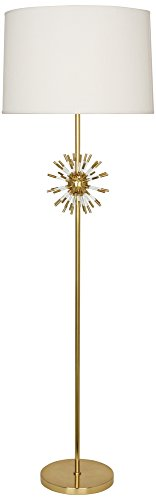 Robert Abbey Andromeda Modern Brass Floor Lamp (Floor Brass Lamp Robert)