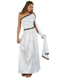 RG Costumes Women's RG Roman Toga Adult White Long Costume, One -