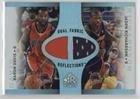 Baron Davis; Jason Richardson (Basketball Card) 2006-07 Upper Deck Reflections - Fabric Reflections Dual ()