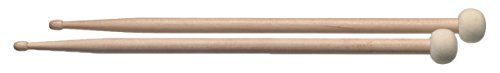 - Stagg SM5A-TIM F30 Maple Combo Drumsticks with 5A Wood Tip and Round Felt Head