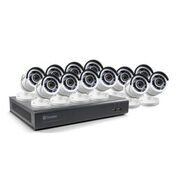 Dvr Kit (Swann SWDVK-1645912-US 16 Channel HD 1080p cctv Security System Kit DVR & 12 1080p Bullet cameras …)
