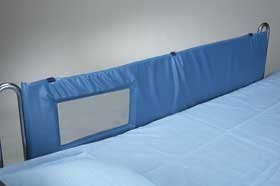 THRU-VIEW BED RAIL PADS 60 IN (PR)