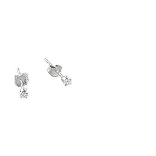 2MM Tiny Clear Ice White CZ 925 Sterling Silver Solitaire Stud Post Earrings Second Hole Cartilage