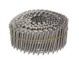 NailPro 2 Inch by 0.093 - 15 Degree Wire Coil - Stainless Steel - Ring Shank Siding Nail 3600 pc. / CTN Coil Nails Ring Shank