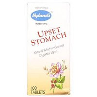 Hyland's Upset Stomach Tablets, 100 Tablets (Pack of 3)