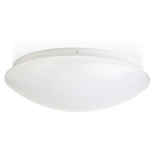 Hyperikon LED Flush Mount Ceiling Light, 16, 35W (150W equivalent), 3100lm, 3000K (Soft White Glow), 120° Beam Angle, 120-240V, UL Listed, 16-Inch Flush Mount, Instant-On